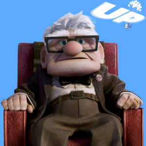 Carl Fredricksen from Up | Nursing Equipment South West